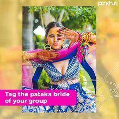 Tag the stylish gal of your gang, who would definitely be a pataka bride. . . 📸: @dbfilmspvtltd . . . Use #Pankhuribride to get featured  #askpankhuri #beapankhuribride #bridalgoals #swag #swagbride #bridechilla #thisdulhaniyagotstyle #dulhaniya #stylebride #bridegoals👰 #weddings #indianweddingdress #weddingfun #bridalstylist #bridalmusing #weddingmagazine #pankhurimagazine #magazine #bridalmagazine #pataka #stayathomenbelazyy Bridal Musings, Swag, Stylists, Magazine, Weddings, Bride, Style, Wedding Bride, Bridal