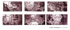 Chris Deboda Sketchblog: Scenes Et cetera
