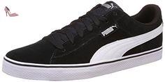 Puma 1948 Vulc - Chaussures d'Entrainement - Mixte Adulte - Noir (Black/White 04) - 47 EU (12 UK) - Chaussures puma (*Partner-Link)