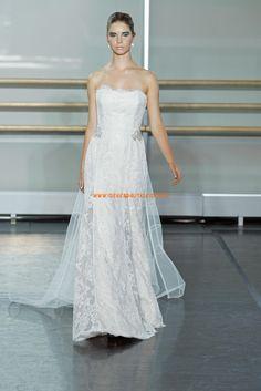 Süße Liebste Hochzeitskleider aus Softnetz mit Applikation