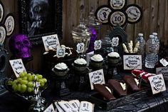 Kara's Party Ideas Haunted Mansion Halloween Party - Halloween Printables & Party Ideas | Kara's Party Ideas