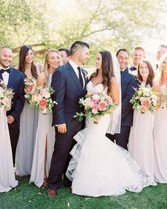 Helloooooo gorgeous! The structural lines on Allure 9364 are perfect with this bride's amazing blowout. #regram @ashleyludaescherphoto ・・・ Surrounded by love and pure joy!  Can't wait to share more from C & J's incredible @ggrandv wedding planned by @lovelyfest with florals by @preciousbloom