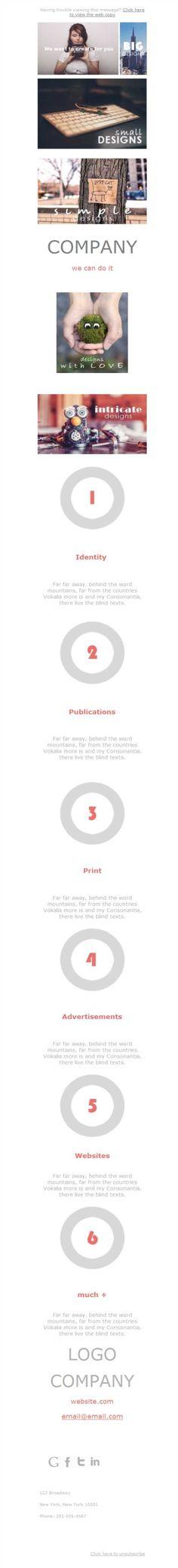 Mejores 20 imágenes de Diseño Gráfico - Plantillas Newsletter en ...