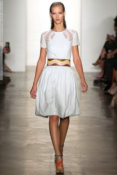 Sophie Theallet (Spring-Summer 2015) R-T-W collection at New York Fashion Week  #AgneKonciute #CharlotteNolting #DorotaKullova #ElenaBartels #EleonoraBaumann #JamilyWernkeMeurer #KelyFerr #LineBrems #LulaKenfe #MargaritaPugovka #NataliEydelman #NewYork #OlaMunik #SophieTheallet #SymoneChallenger #WaleskaGorczevski #ZoeColivas See full set - http://celebsvenue.com/sophie-theallet-spring-summer-2015-r-t-w-collection-at-new-york-fashion-week/