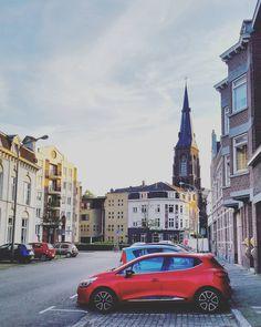 Contrast. . . . . . . . . . . . . . . . . . . . . . . . . . . . .  #photography #travel #red #photooftheday #vsco #Netherlands #urban #architecturelovers #architecture #vscocam #maastricht #instadaily #instamood #romania #me #weekend #artofvisuals #travelphotography #traveler #walk