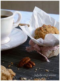 Muffins avoine, sirop d'érable et noix de pécan [vegan]