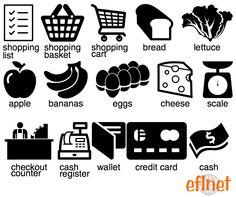 Grocery Shopping - Worksheets | EFLnet