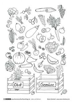 Leben und Wohnen - Obst Gemüse Ratespiel - Dieckvoß