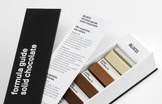 Criativa e deliciosa caixa de chocolates inspirada na paleta de cores da Pantone: http://followthecolours.com.br/gimme-five/5-objetos-de-desejo-para-querer-muito-essa-semana-29/