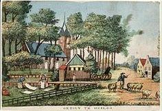 ⌠Gezigt te Heiloo, ca. 1825