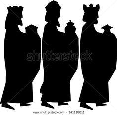 Three kings or three wise men. Three kings or three wise men. Outdoor Nativity Scene, Christmas Nativity Scene, Christmas Wood, Christmas Projects, Christmas Ornaments, Nativity Scenes, Felt Ornaments, Nativity Ornaments, Christmas Bells