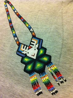 Huichol Peyote Beaded Necklace | eBay