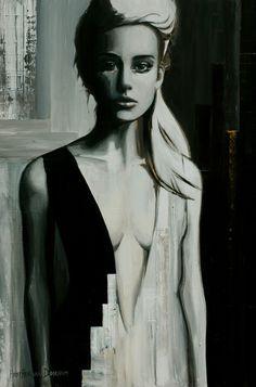 "Saatchi Art Artist: Hesther Van Doornum; Acrylic 2010 Painting ""Daydream V """