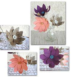 Come fare fiori di rotolo di carta igienica - Villaggio Artigiano