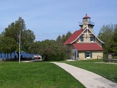 Eagle Bluff Lighthouse in Peninsula State Park - 9462 Shore Rd Fish Creek, WI 54212