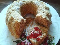 fitness desserts: Ovsená - kokosová bábovka - bez bielej múky, cukru a margarínu. Výborná a voňavá!