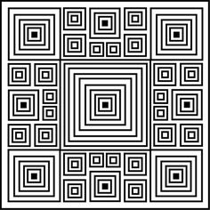 optical illusions coloring pages free - Google Search