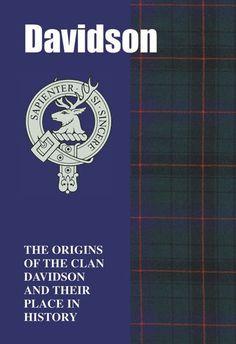 Clan Davidson History Clan Davidson Tartan Origins Mini Book   foreverythinggenealogy.net.au