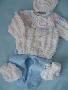 Crochet For Boys, Baby Knitting Patterns, New Baby Products, Free Pattern, Sweaters, Kids, Clothes, Fashion, Knit Jacket