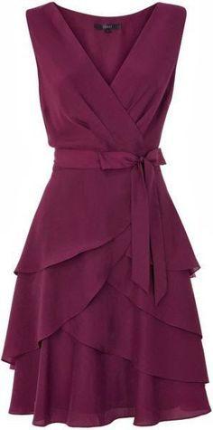 Adorable sleeveless mini dress fashion cute outfits for girls 2017 Pretty Dresses, Beautiful Dresses, Dress Skirt, Dress Up, Wrap Dress, Floaty Dress, Short Dresses, Formal Dresses, Sleeveless Dresses