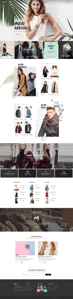 Visionary - eCommerce Shop PSD Template on Behance