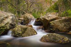 sa spendula waterfalls - una bellissima parte delle cascate si sa spendula/villacidro