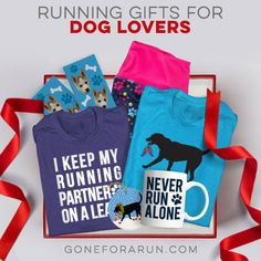 These running gifts made just for dog lovers are a great way to keep your favorite running pair looking and feeling great! Dog Lover Gifts, Dog Gifts, Dog Lovers, Christmas Themes, Christmas Holidays, Running Gifts, Gifts For Runners, Dog Runs, Running Motivation