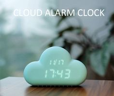 Cloud Shaped Alarm Clock