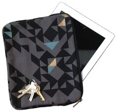 printed canvas ipad case from amsterdam!