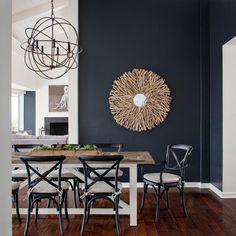 Contemporary Dining Room.
