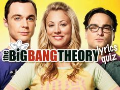 """Do You Know The """"Big Bang Theory"""" Theme Song? Take the quiz and let's find out how much you know about this TV show theme song! Tv Show Quizzes, Online Quizzes, Fun Quizzes, Big Bang Theory Lyrics, Big Bang Theory Trivia, Tv Theme Songs, Tv Themes, Trivia Quiz, Personality Quizzes"""