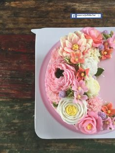 Agar Agar Jelly, Jelly Cake, Thai Dessert, Floral Cake, Cake Ideas, Wedding Cakes, Tea Cups, Butter, Birthday Cake