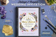 Best -50%* Foil&Crayon Wedding Invite III