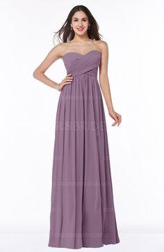 Valerian Modern A-line Sleeveless Zipper Chiffon Plus Size Bridesmaid Dresses (Style D66940)