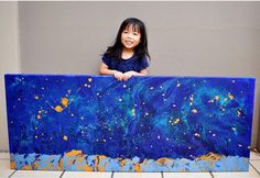 Cassie is a successful artist at the age of Selling Paintings, Galaxy Painting, Right Brain, Glitter Paint, Meeting New Friends, Donate To Charity, So Creative, What Inspires You, Cassie