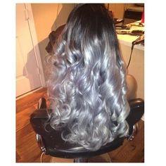 Stunning Silver Hair
