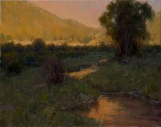 © Becky Joy reflected light oil painting