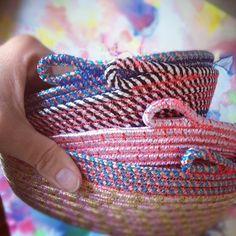 Handmade baskets by Alex Falkiner