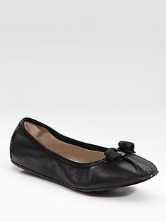 Salvatore Ferragamo My Joy Ballet Flats: the most comfortable shoe I have ever owned!