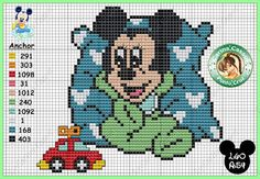 Dot Magic: Graphics Disney Mickey Turminha.