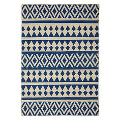 Buy John Lewis Modasa Runner, Blue/White Online at johnlewis.com