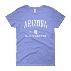 Vintage Arizona AZ Women's T-Shirt – Jim Shorts