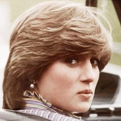June 16, 1981: Lady Diana Spencer in Prince Charles' Aston Martin as he plays polo at Smith's Lawn.