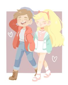 """kawaiimelodies: """"STARCO (ft. beret Marco and pastel) """""""