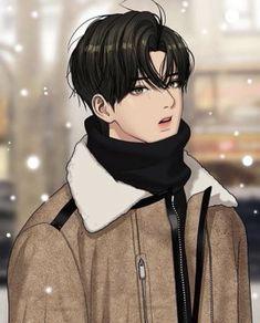 The secret Angel Cool Anime Guys, Handsome Anime Guys, Handsome Boys, Chica Anime Manga, Anime Neko, Anime Eyes, Suho, Anime Korea, Korean Anime