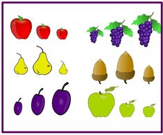 Otthon elkészíthető ovis fejlesztő játék Kindergarten Math Worksheets, Worksheets For Kids, File Folder Games, Preschool, Education, Fruit, Learning, Play, Learn French