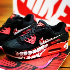 Custom Hand painted shoes Nike Air Max by NinaHandPaintedShoes 03b707e69