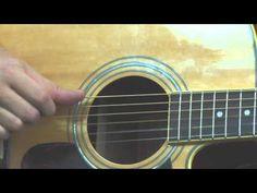 Learn James Taylor inspired acoustic guitar lesson fingerpicking pattern...
