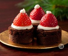 Fun and easy holiday entertaining- kids, adults and even Santa will enjoy making and eating these creative treats.