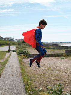 Before our little superheroes take flight this summer, make sure they've got all the essentials, like a red cape, of course.